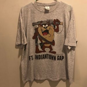 Warner Bros. Taz the Tasmanian devil military tee